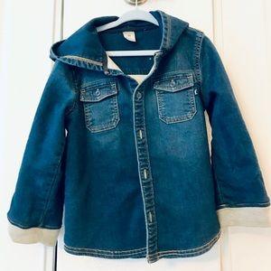 OSHKOSH toddler denim jacket - 4T